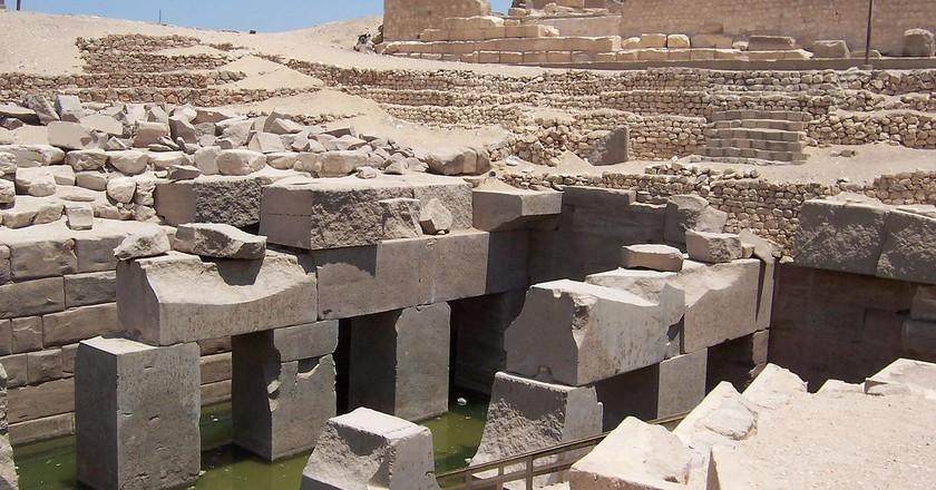 Osirion Temple - Abydos | © WikiCommons