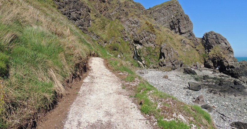 Gobbins Cliff Path   © Philip McErlean / Flickr