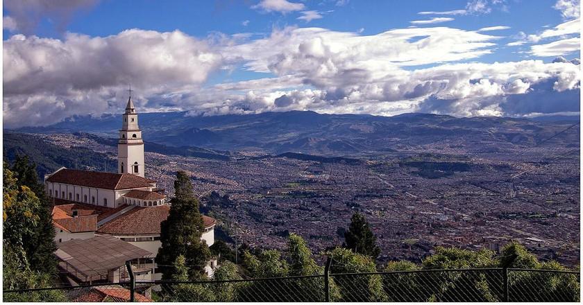 Bogotá's famous Monserrate