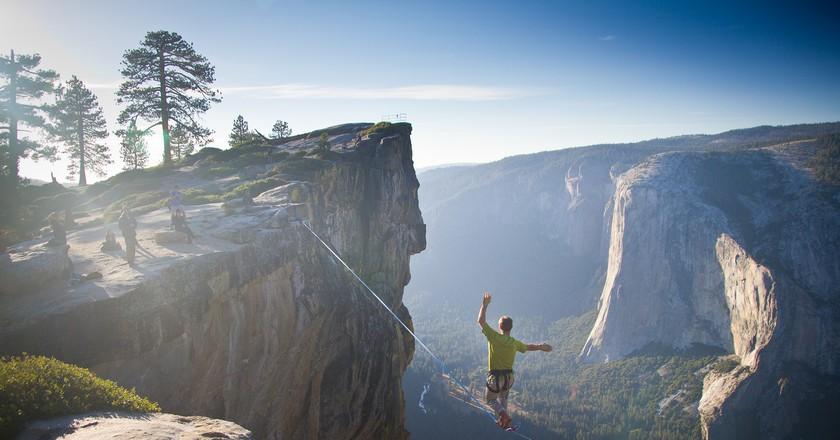 Highlining   © Jeff P/Flickr