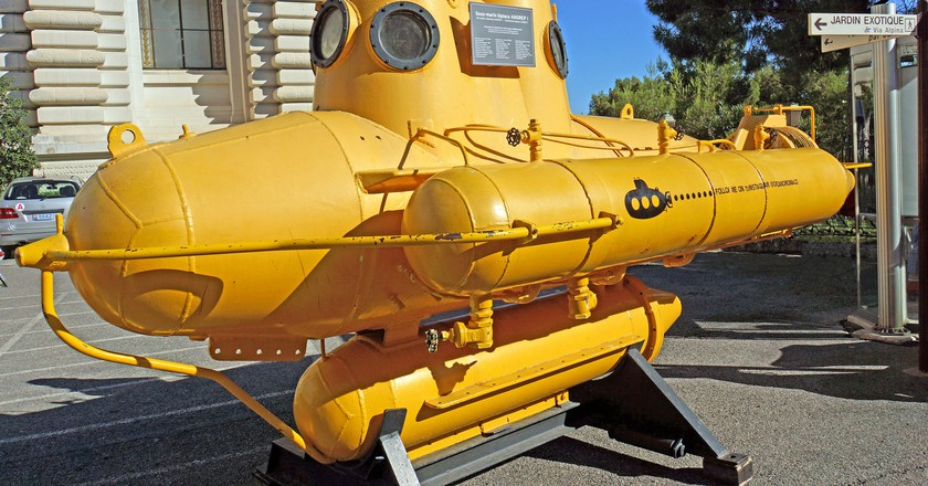 Submarine at the Oceanographic Museum | © Dennis Jarvis/Flickr