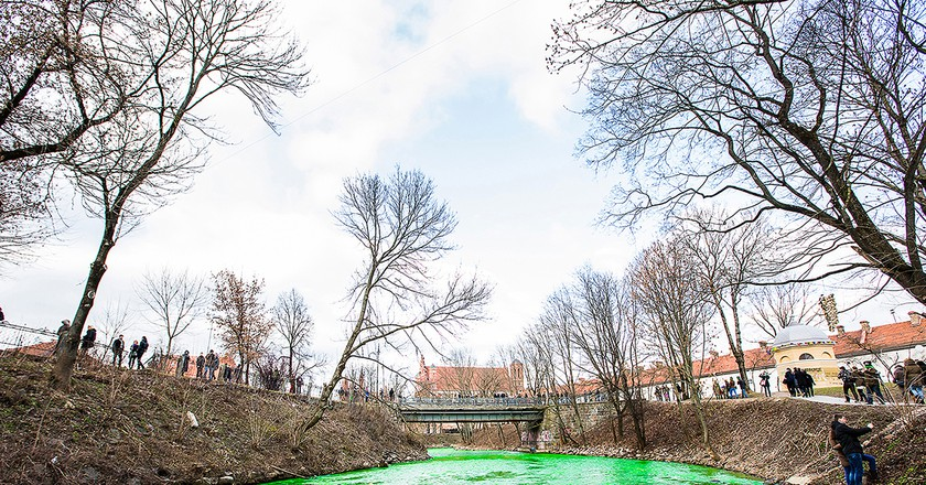 Green Vilnele River | Courtesy of Elena Grimalienė