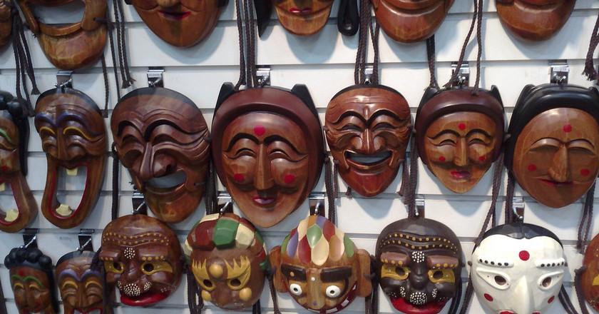 Korean Masks |© Tim Walker / Flickr