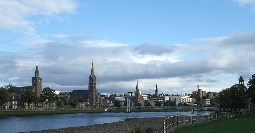 Inverness Spires | © Dave Conner/Flickr