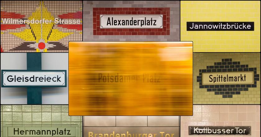 Berlin's U-Bahn stations | © Andrea Monari/Flickr