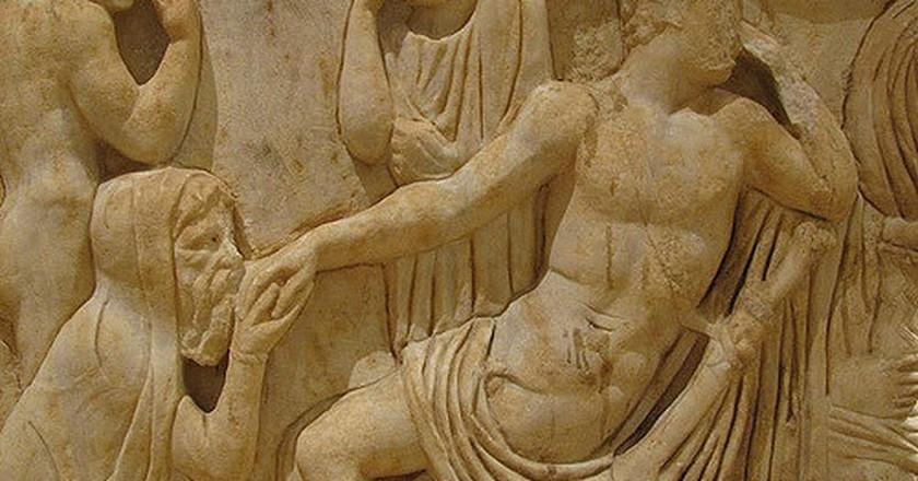 Greek Sculpture, National Museum Beirut| © Steven Damron/ Flickr