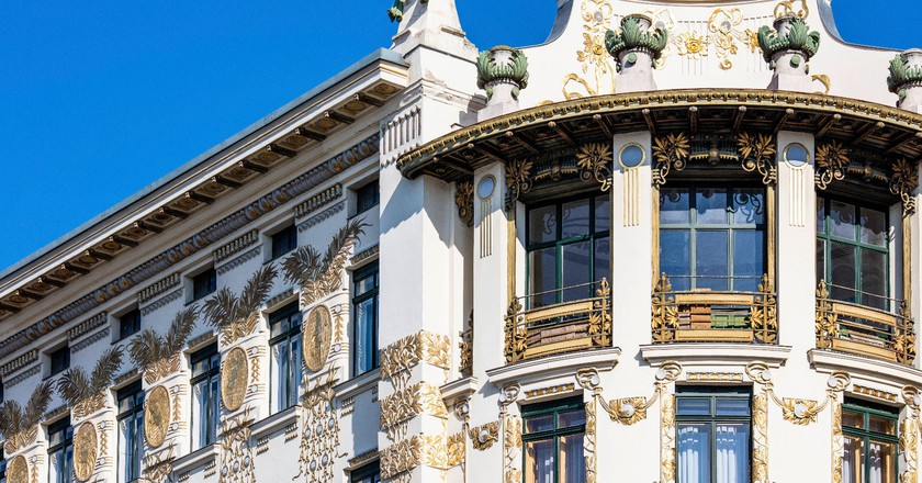 Wienzeile Jugendstil facade© WienTourismus/Christian Stemper