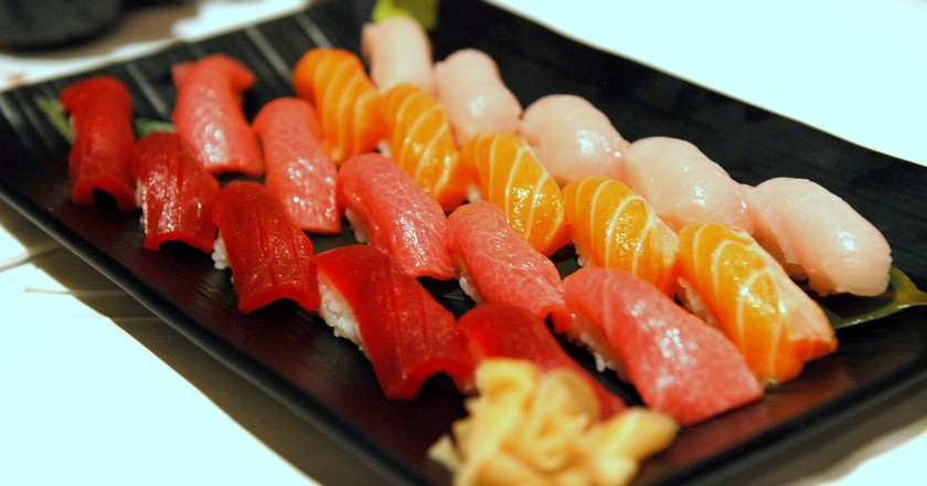 Sushi assortment | © TummyRumble / Flickr