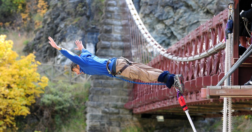 Bungy Jump at Kawarau Bridge | © Los viages del Cangrejo/Flickr