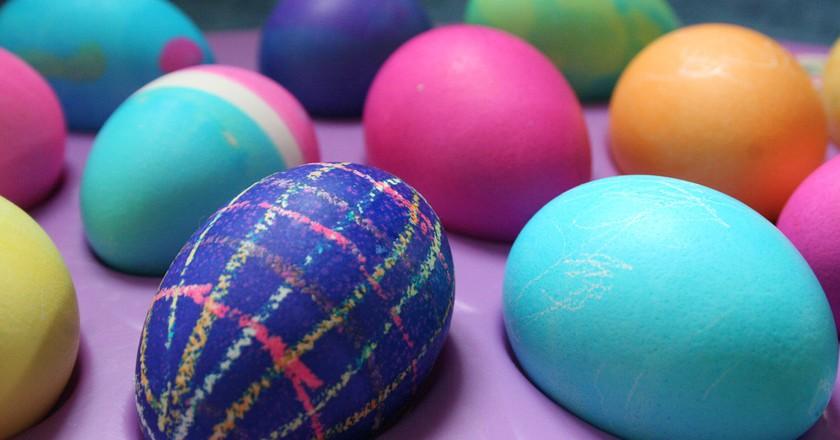 Decorated eggs | © Abigail Batchelder/Flickr
