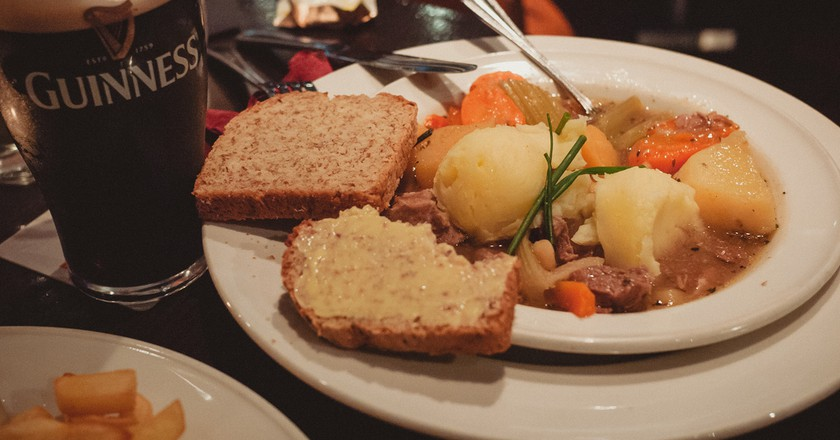 Irish Stew and Guinness | © daspunkt / Flickr