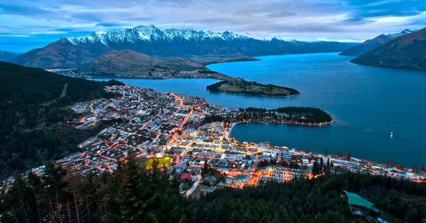 Queenstown from Bob's Peak | © Lawrence Murray/Flickr