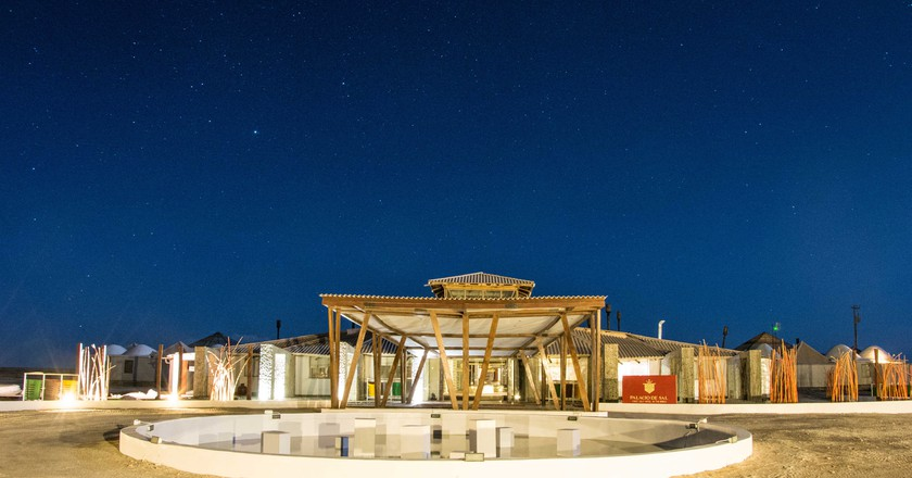 Welcome to the Hotel That's Made Entirely from Salt
