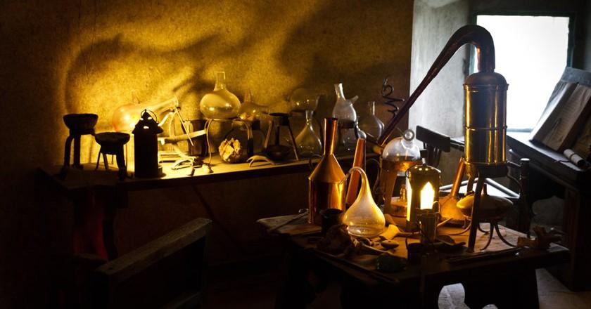 An alchemist's workplace in the castle of Prague | ©Lau Svensson / Flickr
