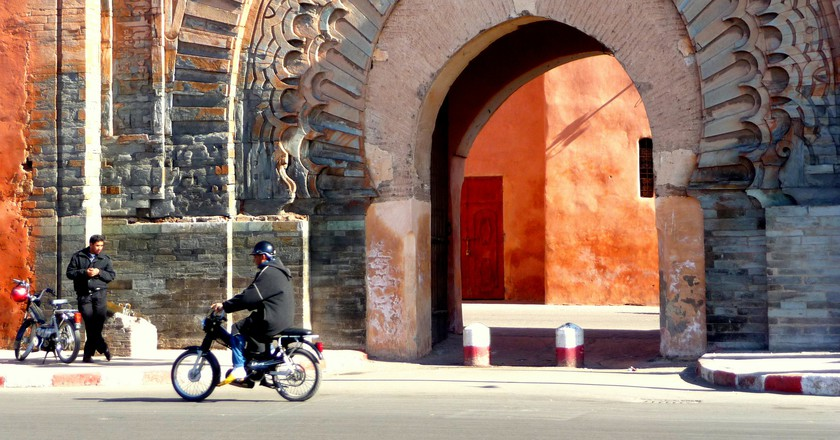 Bab Agnaou gate leading into the medina, Marrakesh | © Martin Pilkington / Flickr
