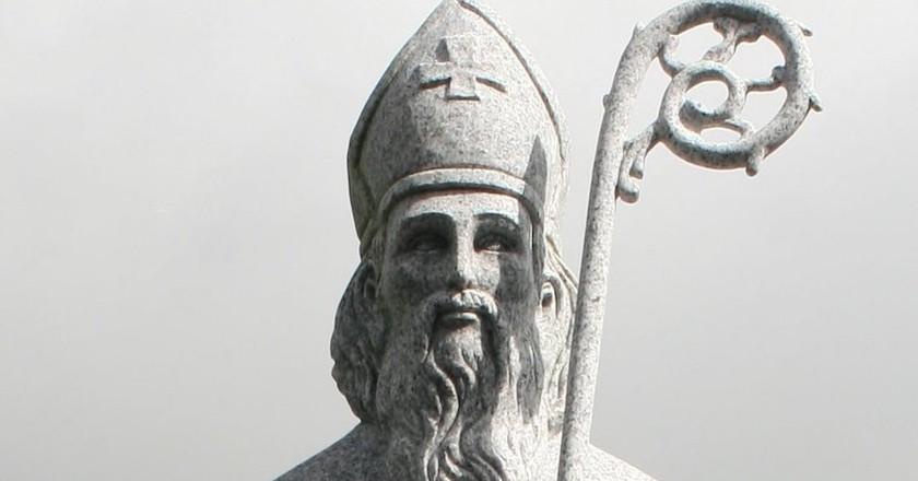 Statue of St. Patrick, County Mayo | © Andreas F. Borchert / WikiCommons