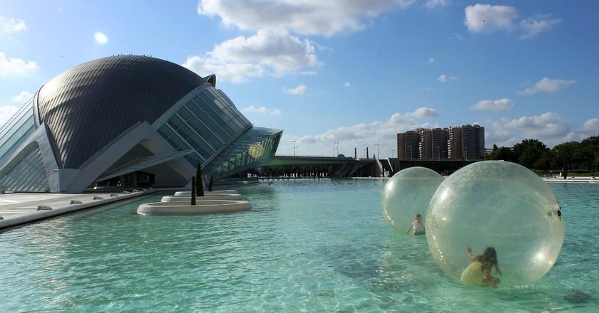 The City of Arts and Sciences, Valencia. Photo @ Pixabay