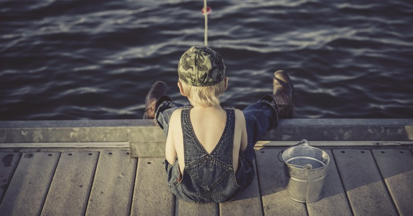The Finnish national pastime of fishing/ Pixabay