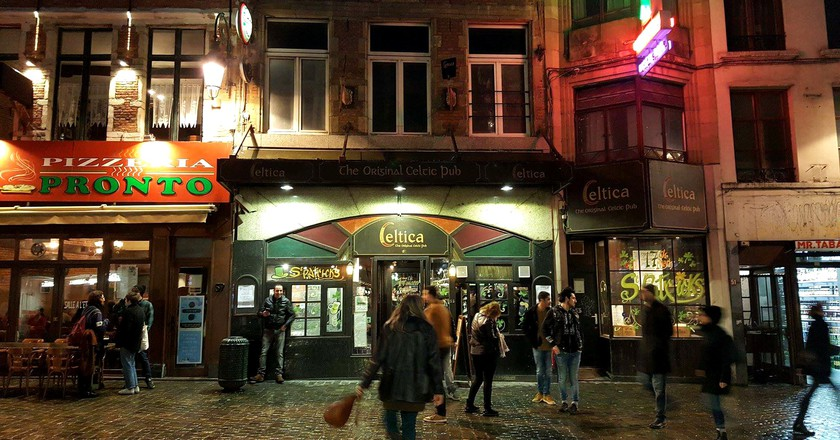 Irish pub Celtica, an Erasmus party staple   Courtesy of Celtica