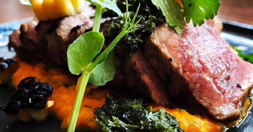 A meaty lunch special at Chalk and Cork © Courtesy of Chalk and Cork