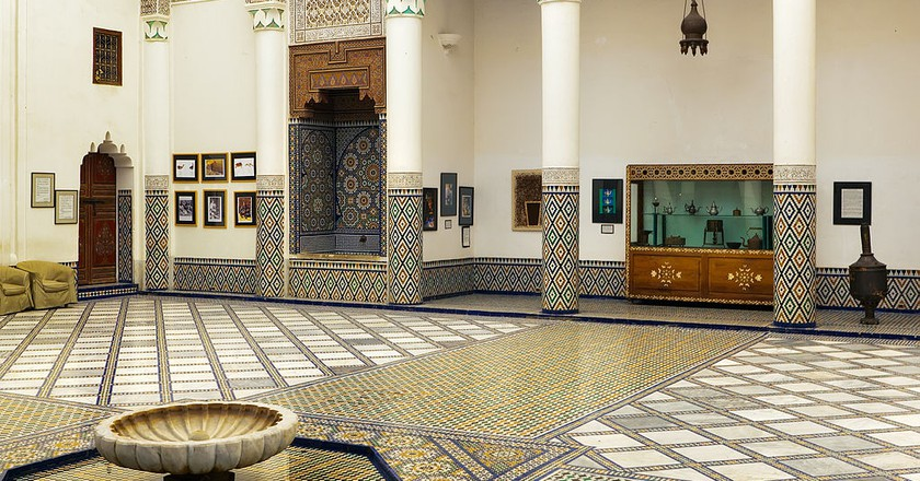 Inside the magnificent Dar Si Said, Marrakesh | © Anton Zelenov / WikiCommons