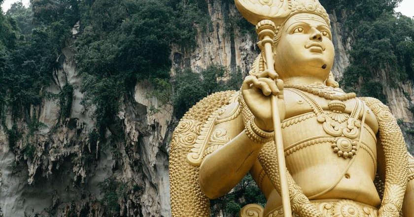 Golden Statue of the Batu Caves, Malaysia | Irene Navarro / © Culture Trip