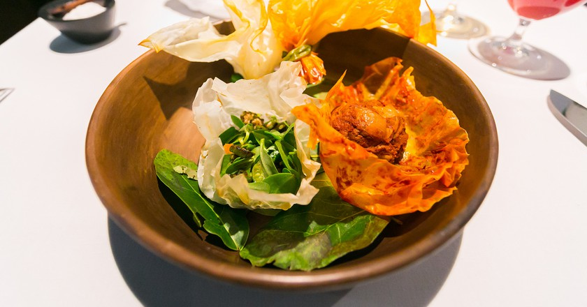 A dish from Pujol | © City Foodsters /Flickr