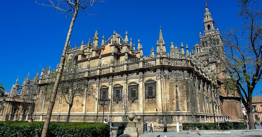 Seville cathedral; pixabay