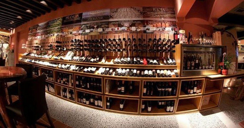 Take your pick of vintages from Malaga's vineyards I Courtesy of Los Patios de Beatas
