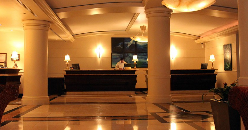 Intercontinental Resort hotel lobby | © Prayitno/ Flickr