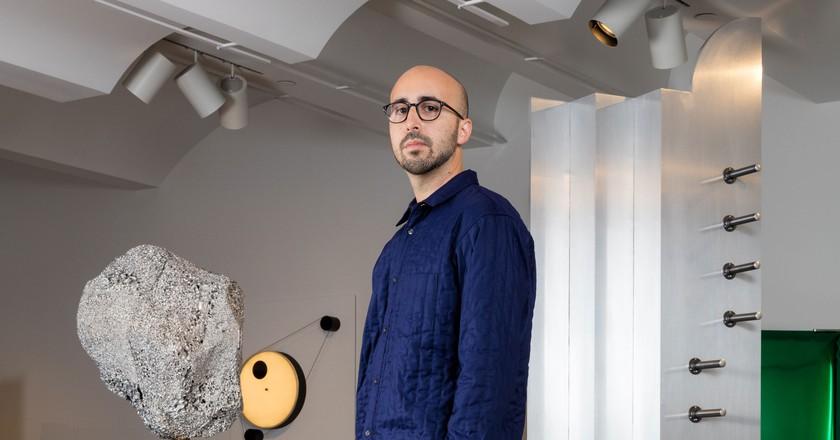 Juan Garcia Mosqueda, founder of New York design gallery Chamber   © Lauren Coleman