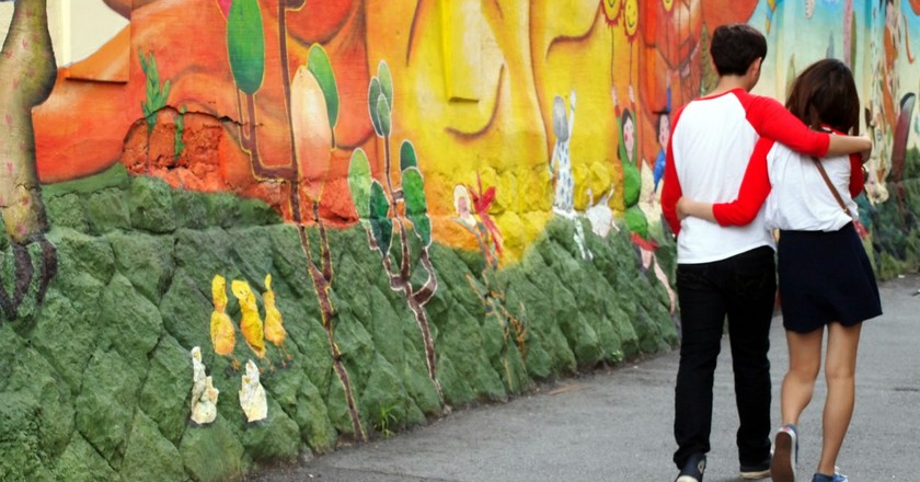 Colorful street art brightens up Seoul's residential neighborhoods | © Mimsie Ladner