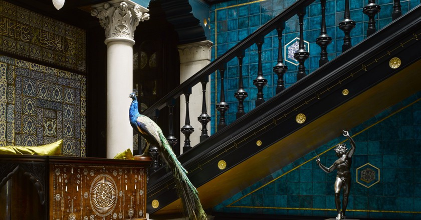 Leighton House Museum. Staircase  © Will Pryce