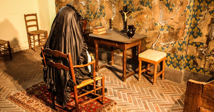 Marie Antoinette's cell at the Conciergerie │© Shadowgate / Flickr