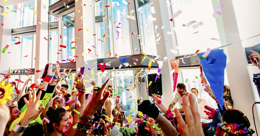 Events company Morning Gloryville is pioneering pre-work raves across London | Courtesy of Morning Gloryville