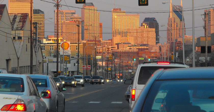 Downtown Nashville traffic | © MICHAEL BROWN / Flickr