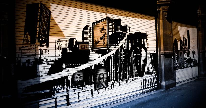 Northern Quarter Street Art   © Joshua Poh / Flickr