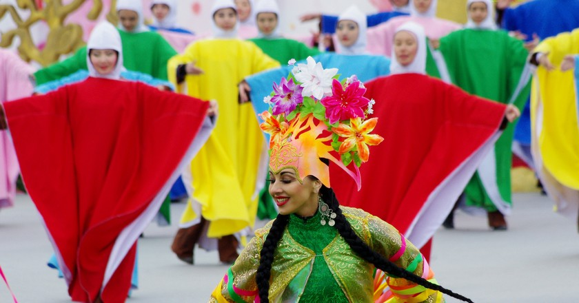 Dance of Spring at Nowruz Celebration in Astana  © Ken & Nyetta/Flickr