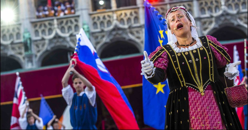 The Ommegang parade, Brussels's annual medieval feast | Courtesy of visitbrussels.be