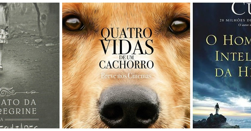 Miss Peregrine's Home for Peculiar Children | © Intrínseca | A Dog's Purpose | © HarperCollins | The Most Intelligent Man in History | © Sextante