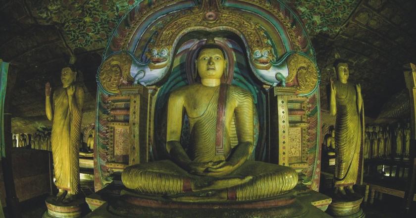Dambulla Cave Temple |© Dinu Perera