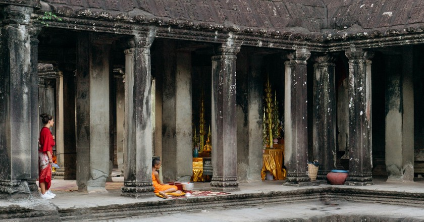 Angkor Wat is top on backpackers' list of places to visit
