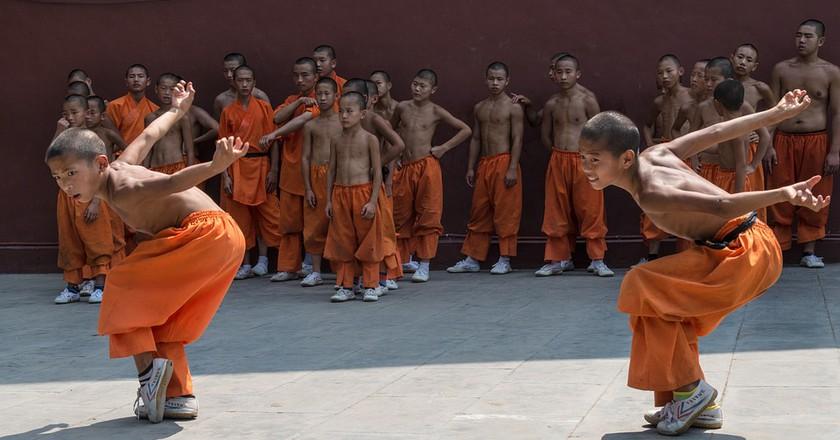 Shaolin Exercises   Courtesy of Maxpixel