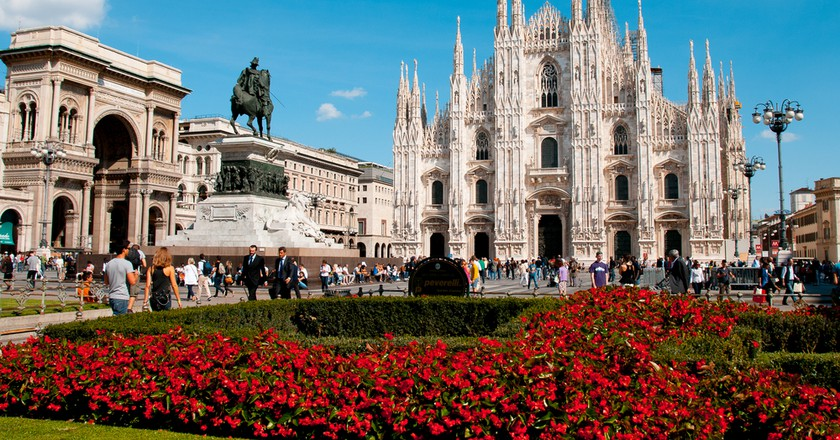Milan Cathedral   ©  colores / Shutterstock