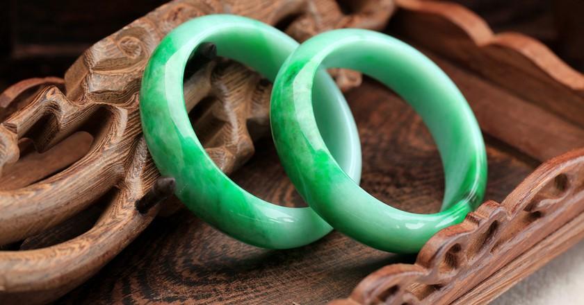 Jade bracelets | Shutterstock