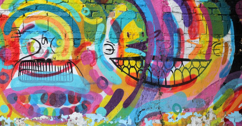 Graffiti of unidentified artist on the wall of the Batman alley in Sao Paulo Brazil | © MAR Photography/Shutterstock