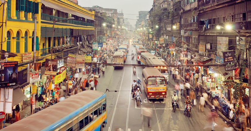 Kolkata has a density of 814.80 vehicles per km of road length | © Radiokafka / Shuttertock