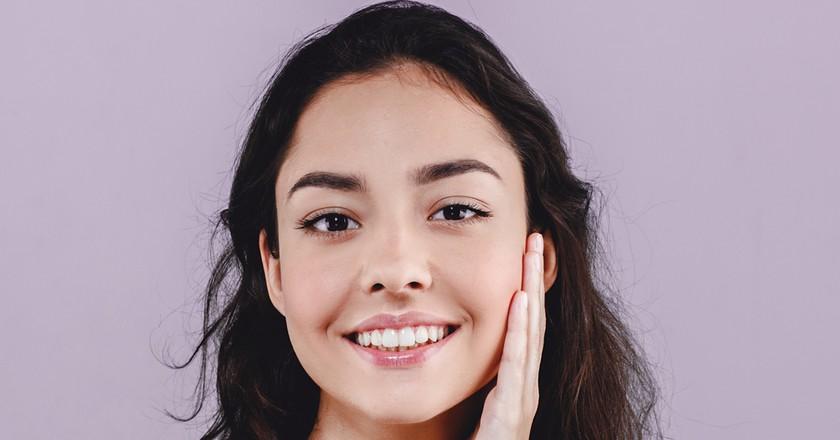 Beautiful, glowing skin   Shutterstock
