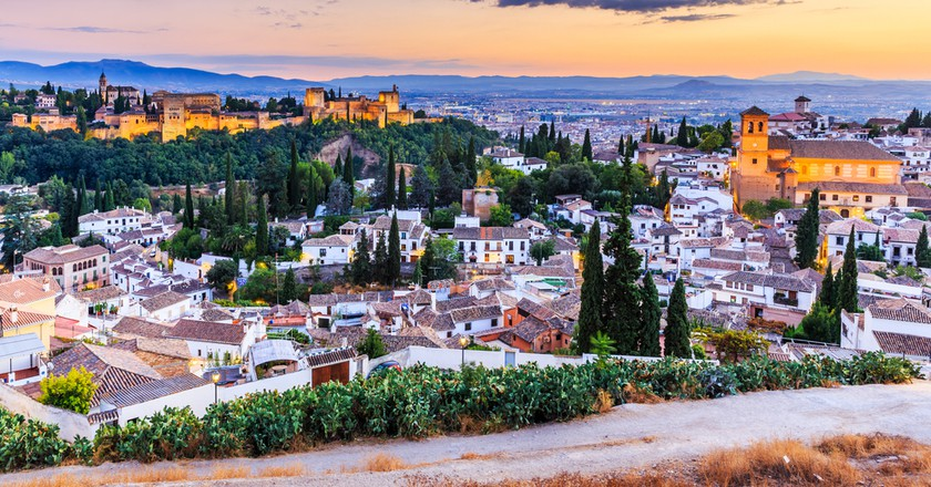 A view of Granada from the Alhambra  | © Sorin Colac/ Shutterstock