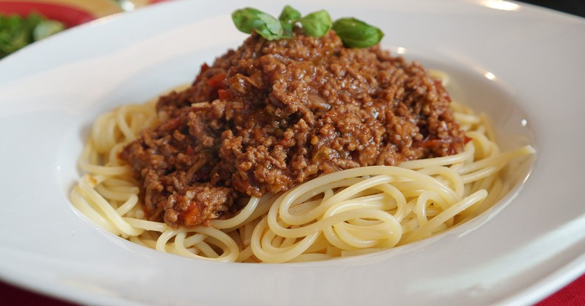 Spaghetti bolognese | ©  pixabay  https://pixabay.com/it/spaghetti-bolognesi-parmigiano-787048/